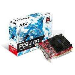 Karta graficzna MSI Radeon R5 230, 1GB GDDR3 (64 Bit), HDMI, DVI, D-Sub - R5 230 1GD3H