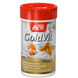 AQUA EL Acti GoldVit - pokarm płatkowany dla ryb zimnowodnych 100ml