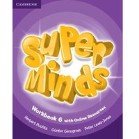 Super Minds Level 6 Workbook with Online Resources (opr. miękka)
