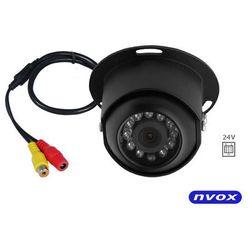 Kamera samochodowa CCD SHARP w metalowej obudowie 24V