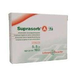 Suprasorb® A+Ag - 5x5cm - 1 szt - przeciwbakteryjny opatrunek z alginianu wapnia i srebrem