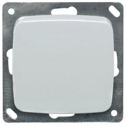 Wyłącznik kołyskowy krzyżowy 102004, czysta biel