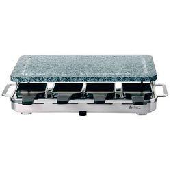 grill elektryczny Raclette 8 INOX z granitową płytą - SPRING