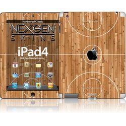 Rovens.pl Nexgen Skins - Zestaw skórek na obudowę z efektem 3D iPad 2/3/4 (Hardwood Classic 3D)