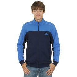 bluza adidas Originals Firebird Linear Zip - Collegialite Navy/Bluebird