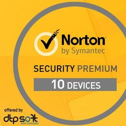 Norton Security 2016 Premium 3.0 1 Użytkownik, 10 Urządzeń