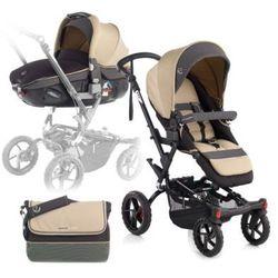 JANE Wózek sportowy Crosswalk + fotelik samochodowy Matrix Light 2 Clay