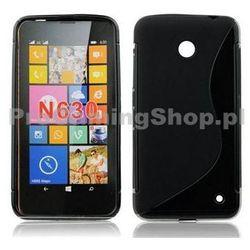 Etui silikonowe S-TYPE do Nokia Lumia 730 a Nokia Lumia 735, Red