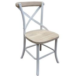 Miloo :: Paris krzesło ogrodowe - naturalny, biały ||Miloo :: Paris krzesło ogrodowe