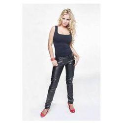Skórzane spodnie damskie Rosalie