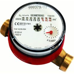 Wodomierz GSD8 3/4 do ciepłej wody BMeters