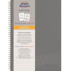 Kołozeszyt Avery Zweckform Notizio Basic 7012 A4/80k. linia
