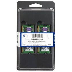 KINGSTON SODIMM DDR3 2x8GB 1600MHz KVR16S11K2/16- wysyłka dziś do godz.18:30. wysyłamy jak na wczoraj!