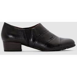 Skórzane wsuwane buty derby