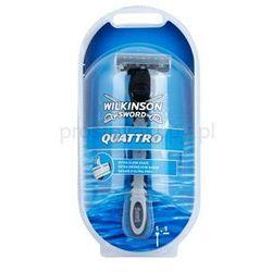 Wilkinson Sword Quattro maszynka do golenia + do każdego zamówienia upominek.