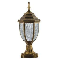Słupek ogrodowy ANS-LIGHTING Metus Decor 8016S2 Stare złoto