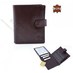 Męski portfel skórzany ALWAYS WILD N92-BL KONIAKOWY