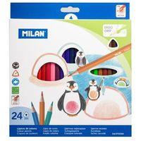 Kredki ołówkowe Milan 0722324 24kol.