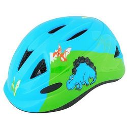 kask R2 Armour Kid's - ATH05C/Blue/Dinosaur