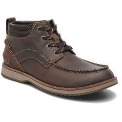 Buty sznurowane Clarks Mahale Mid Męskie Brązowe Dostawa 2 do 3 dni