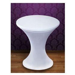 Pokrowiec elastyczny na stolik barowy PSB1 / biały