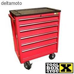 Szafka narzędziowa, 6 szuflad, 70cm, RED