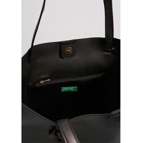 0eb5047a7f6cb Benetton Torba na zakupy black - porównaj zanim kupisz