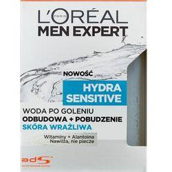 L'Oréal Paris, Men Expert Hydra Sensitive, Woda po goleniu skóra wrażliwa, 100 ml Darmowa dostawa do sklepów SMYK
