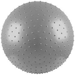 Piłka gimnastyczna masująca 55 cm srebrna - Insportline - srebrny IN120-New (-5%)