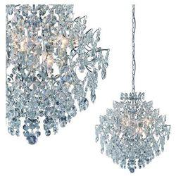 Żyrandol LAMPA wisząca ROSENDAL 100533 Markslojd kryształowa OPRAWA ZWIS IP20 crystal przezroczysty