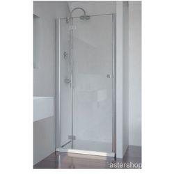 SMARTFLEX drzwi prysznicowe do wnęki lewe 90x195cm D1290L