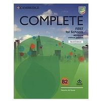 Complete First for Schools Workbook without Answers with Audio Download (opr. miękka)