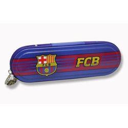Piórnik metalowy FC Barcelona
