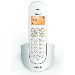 Telefon bezprzewodowy VTECH CS1100 Biało-pomarańczowy + Zamów z DOSTAWĄ JUTRO!