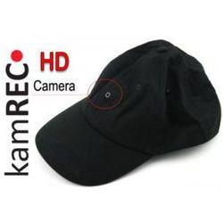 Czapka szpiegowska z kamerą HD 720p - Sterowanie pilotem