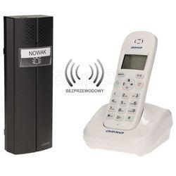 Bezprzewodowy tele-domofon biały PORTA ORNO