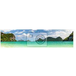 Fototapeta Tajlandia panorama.