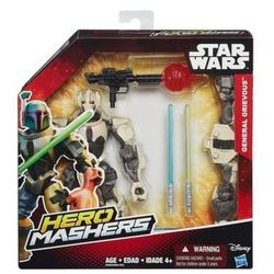 Star Wars Hero Mashers General Grievous figurka z bronią 15cm