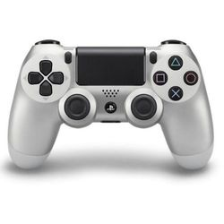 Kontroler Sony PS4 DualShock Srebrny (PS719822943)