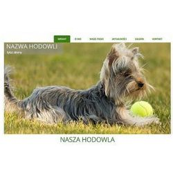 Szablon Joomla / WordPress dla hodowli psów SH2e
