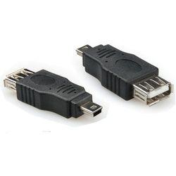 PRZEJŚCIÓWKA ADAPTER USB 2.0 NA MINI USB