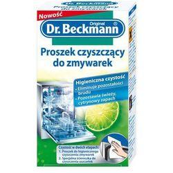 Zestaw DR. BECKMANN Proszek do czyszczenia zmywarek 75 g + Ściereczka