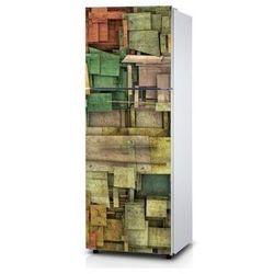Naklejka na lodówkę - Nowatorska kompozycja - Naklejka laminowana