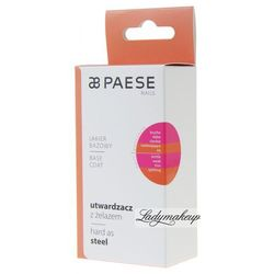 PAESE - BASE COAT Hard as STEEL - Utwardzacz z żelazem- lakier bazowy