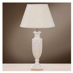 Stojąca LAMPA stołowa LUI/APHRODITE SM+LUI/LS1052 Elstead ceramiczna LAMPKA abażurowa kremowy