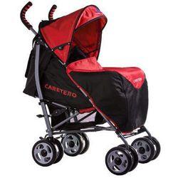 Wózek spacerowy Spacer czerwony