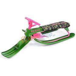 Nartosanki Sno Blade Camo Hamax (zielono-różowe)