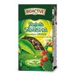 Bio-Active zielona z opuncją 100g liściasta