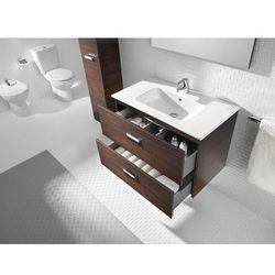 Zestaw łazienkowy Unik 80 cm z szufladami Roca Victoria A855852201 Wenge