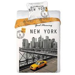 NOWY NEW YORK TAXI POŚCIEL AUTO TAKSÓWKA 160x200